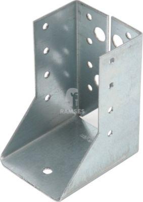 Balkenschuh Innen 60 X 100 X 2 mm Stahl sendzimirverzinkt