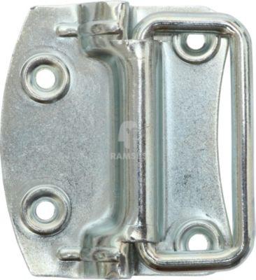 Kistengriff 80 X 70 X 1,5 mm Stahl verzinkt