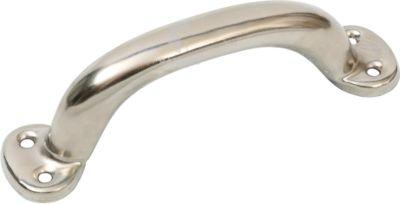 Hohlgriff 125 mm Stahl vernickelt