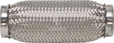 Flexrohr ohne Anschlussstutzen 55 x 150 mm Edelstahl A2 1 Stück