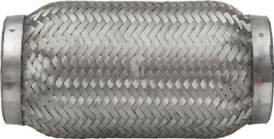 Flexrohr ohne Anschlussstutzen 69 x 150 mm Edelstahl A2 1 Stück