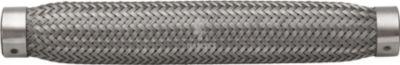 Flexrohr ohne Anschlussstutzen 19 x 230 mm Edelstahl A2 1 Stück