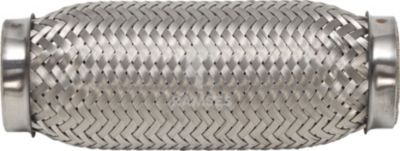 Flexrohr ohne Anschlussstutzen 60 x 100 mm Edelstahl A2 1 Stück