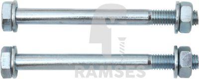 Ramses Befestigung Sortiment Balkenschuh + H-Anker Balkenstärke 120 mm Stahl verzinkt