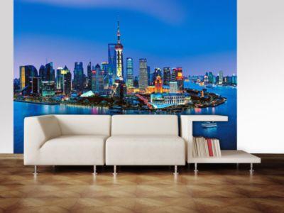 Fototapete Shanghai Skyline