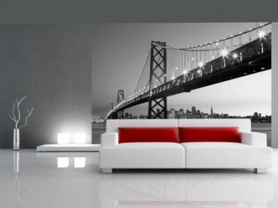 Vliestapete San Francisco Skyline
