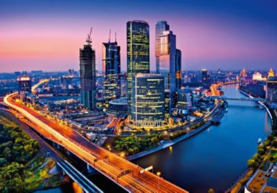 Fototapete Moscow Twilight