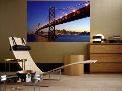 XXL Poster Giant Art San Francisco Skyline