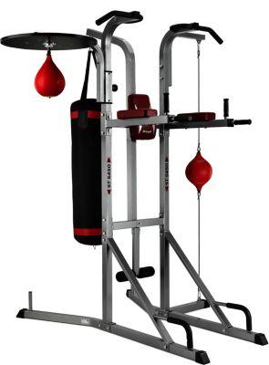 ST5450 G545 Kraftstation - Fitnesstation - Latzug-Station - Maximale Stabilität - verstellbare Multipositions-Rückenlehne - Schaumstoffrollen