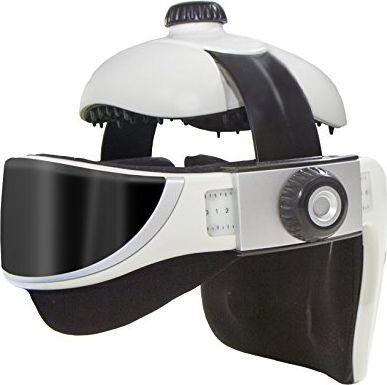 Tecnovita Kopfmassagegerät mit Massagebrille YM851