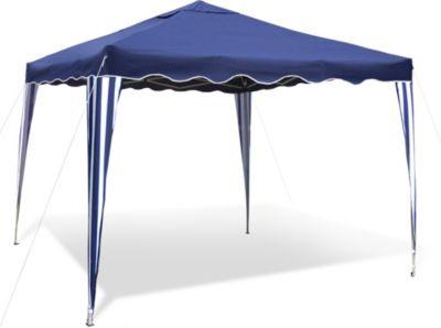 Praktischer Faltpavillon inkl. Tasche, 3x3 m, blau