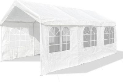 XXL Partyzelt mit 4 Seitenwänden, 3x6 m, wasserdicht