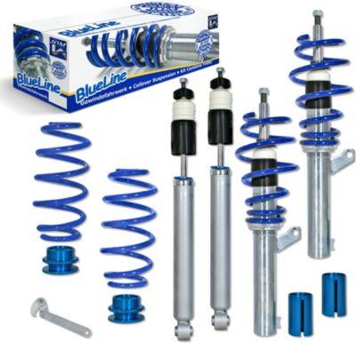 BlueLine Gewindefahrwerk VW Golf 5, Plus, GTI, Passat 3C, Touran, Jetta 3 und Scirocco VW Golf 5, 1.9TDi DSG/ 2.0TDi/ DSG Ø 50/55 mm