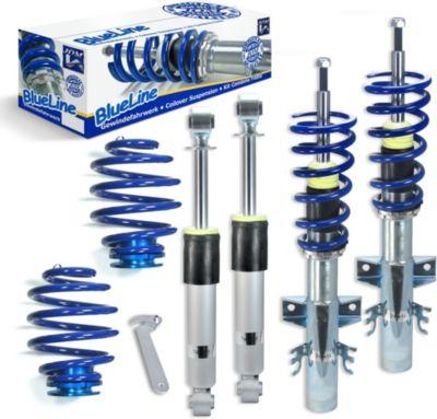 BlueLine Gewindefahrwerk VW Transporter T5, 4 Motion VW Multivan / Bus T5 Typ 7H 2.0/ 3.2 V6/ 1.9TDi/ 2.0TDi/ BiTDi/ 2.5TDi/ 4Motion, 03-