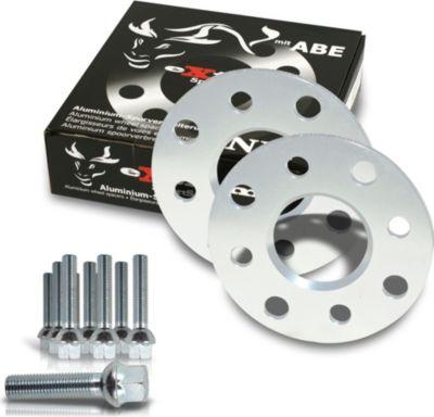 Spurverbreiterung Set 10mm inkl. Radschrauben für Audi A4 8E / Audi A4 Cabrio 8H Audi A4, incl.Cabrio (8H,8E)
