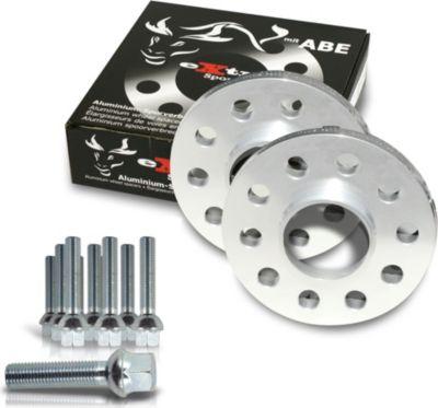 Spurverbreiterung Set 40mm inkl. Radschrauben für Audi A4 8E / Audi A4 Cabrio 8H Audi A4,S4 incl.Cabrio (8H,8E)
