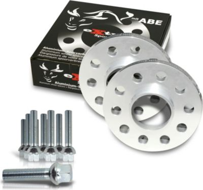 Spurverbreiterung Set 20mm inkl. Radschrauben für Audi A4 8E / Audi A4 Cabrio 8H Audi A4 S4 (8E), inkl. Cabrio