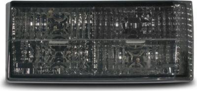 Rückleuchten geeignet für VW Golf 1 und Cabrio 155, in smoke-Optik schwarz kristall Golf I Bj. 74-80 und Cabrio Typ 155 Bj. 79-93