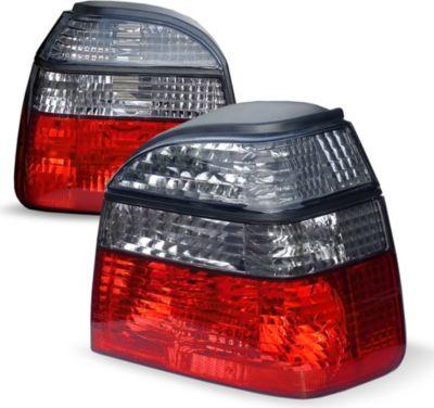 Rückleuchten geeignet für VW Golf 3, in klar chrom und rauch rot VW Golf 3 Bj. 91-97