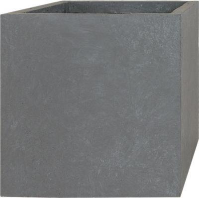 Pflanzwerk Pflanzkübel CUBE - (Grau) - 46cm x 55cm x 55cm | Dekoration > Dekopflanzen | Fiberglas | Pflanzwerk