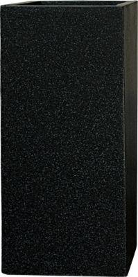 Pflanzwerk Pflanzkübel TOWER - (Granit Anthra) - 50cm x 23cm x 23cm | Dekoration > Dekopflanzen > Pflanzenkübel | Fiberglas | Pflanzwerk