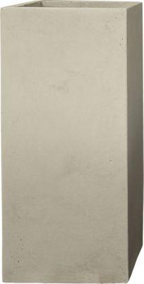 Pflanzwerk Pflanzkübel TOWER - (Sand) - 80cm x 40cm x 40cm | Dekoration > Dekopflanzen > Pflanzenkübel | Fiberglas | Pflanzwerk