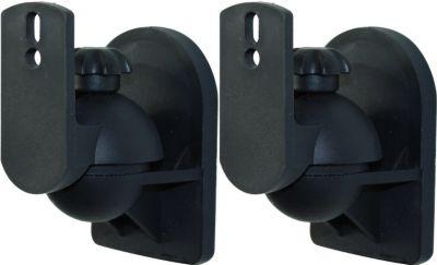 1 Paar Lautsprecher Wandhalterung mit Kugelgelenk