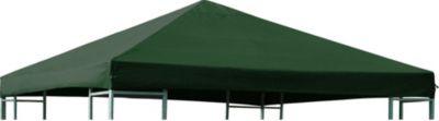 Ersatzdach für Metall- und Alupavillon 3x3 Meter grün, wasserdicht PVC-beschichtet