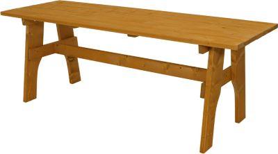 Tisch FREITAL 70x200cm, Kiefer imprägniert