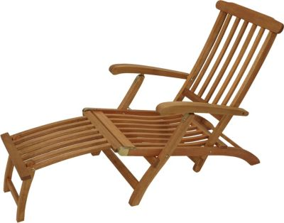 Deckchair MAINE klappbar, Eukalyptus geölt,