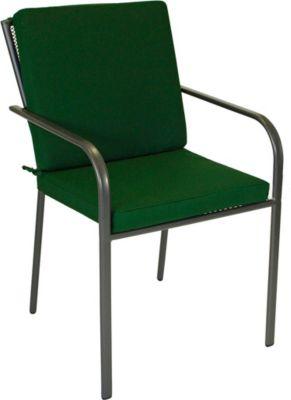 Auflage DENVER für Sessel, dunkelgrün