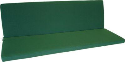 gartenmoebel einkauf Auflage DENVER für Bank 3-sitzer, dunkelgrün
