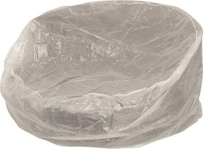 gartenmoebel einkauf Abdeckhaube für Liegeinsel bis 190cm Durchmesser, PE transparent