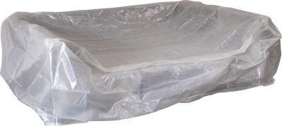 gartenmoebel einkauf Abdeckhaube Loungeset 245x165x80cm, PE transparent