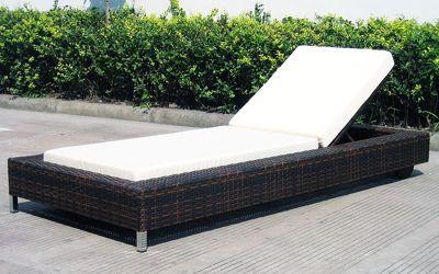 Baidani Rattan Garten Lounge Liege Ocean Dream