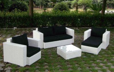 Rattan Garten Lounge Garnitur Calypso -