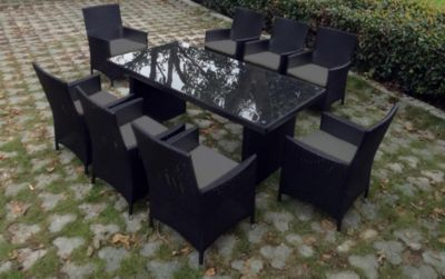 Baidani Rattan Garten Sitzgruppe Elegancy XXL Select