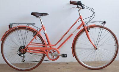 28 Zoll Damen City Fahrrad 6 Gang Alpina... lachs
