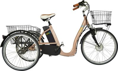 26 Zoll Elektro Dreirad 3 Gang Cyclo2 Comfort26...