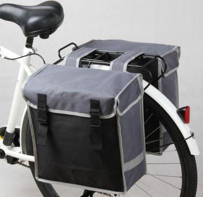 Doppel Fahrrad Gepäckträger Retro Vintage Fahrradtasche Gepäcktasche