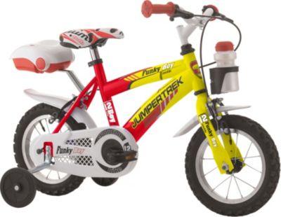 12 Zoll Cinzia Funky Boy Jungen Fahrrad rot-gelb
