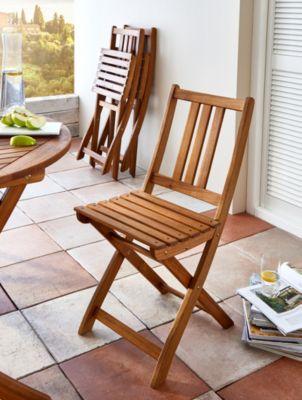 SAM® Balkonstuhl Gartenstuhl aus Akazienholz Klappstuhl FARSO | Garten > Balkon > Balkonstühle | Akazienholz | SAM