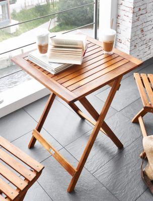 SAM® Balkontisch Akazie 60 x 60 cm Klapptisch FSC® TARNBY   Garten > Balkon > Balkontische   Akazienholz   SAM