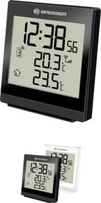 TemeoTrend SQ Funktemperaturstation - Thermometer & Hygrometer Farbe: schwarz