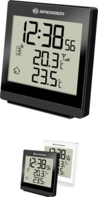 TemeoTrend SQ Funktemperaturstation - Thermometer & Hygrometer Farbe: weiss