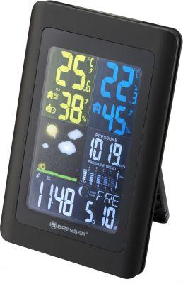 BRESSER Meteo NBF Colour DCF Funkwetterstation Farbe: schwarz | Baumarkt > Heizung und Klima > Klimageräte | Bresser