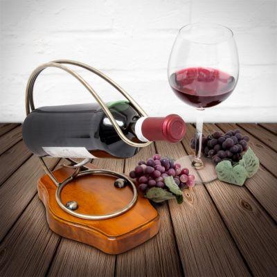 relaxdays Flaschenhalter Wein Antik Design