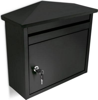 Briefkasten Eisen schwarz