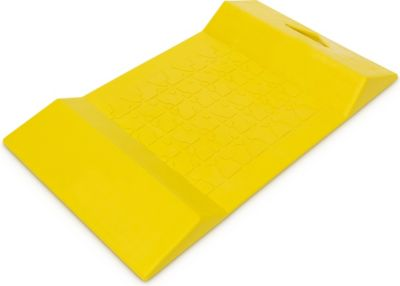 relaxdays  Parkstopp Matte Kunststoff gelb