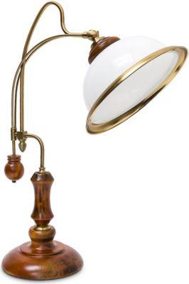 Tischlampe Jugendstil Glasschirm